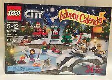 NEW Lego City Christmas 2015 Advent Calendar Santa Train Tree 60099 -SHIPS FAST