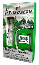 St Joseph Statue Home Sale Kit Way of Saints TWOS House Sell 3.5 in Instructions