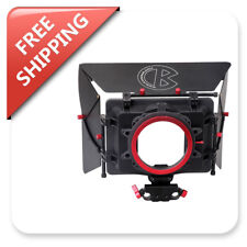 Kamerar Cinematic Matte Box with Donut 4*4 Filter Tray 15mm Rods Block Side