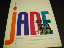 JADE To The Max FEEL THE FLAVOR original 1992 PROMO POSTER AD