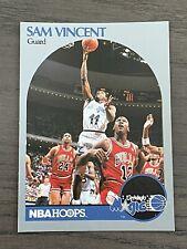 1990-91 HOOPS SAM VINCENT FEAT Michael Jordan #12 Jersey ERROR (A)