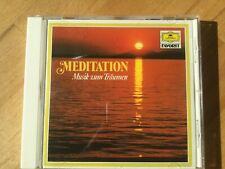 Meditation ? Musik zum Entspannen. 1 CD, DGG