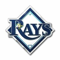 MLB 3D Tampa Bay Rays Auto Color Emblem Sticker Decal Car Truck