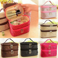 Travel Multifunction Cosmetic Bag Organizer Toiletry Tote Wash Case Makeup Bags