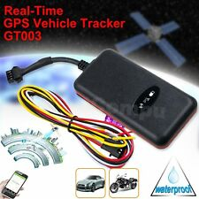 GT003 Vehicle Car Waterproof GSM GPS Tracker Locator w/ Vibration Alarm DC 9-24V