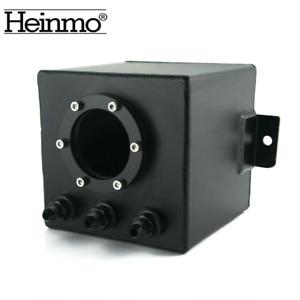 2L Billet High Flow Swirl Fuel Surge Pot Tank AN6 For 044 External Fuel Pump