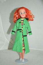 VINTAGE 70 UK CUSTOMIZED SLEEPY EYES SINDY FUN TIME BODY REDHEAD TAMMY IDEAL