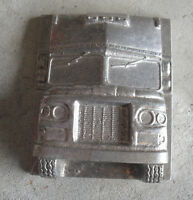 Unusual Vintage Dura Cast Metal Truck Cab Wall Hanging LOOK