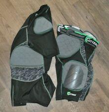 Boys Cutters Rev Impact 5-Pad Shirt & Short Protective Gear Football Large