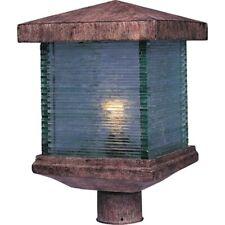Maxim Triumph VX 1-Light Outdoor Post Lantern Earth Tone - 48735CLET