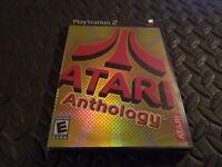 Atari Anthology (Sony PlayStation 2, 2004) PS2 Game New And Sealed * promo Rare