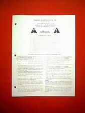 """POWER KING TRACTOR MODEL 60-042 42"""" ROTARY MOWER DECK OWNER / PARTS MANUAL"""