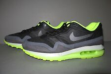 Women's Nike Air Max Lunar 1 Running Shoes Size 8.5 Black/Dark Grey/Volt/Pure