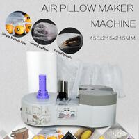 110V Air Pillow Cushion Bubble Packaging Wrap Maker Machine +FREE Air Pillow US