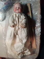 "10"" Antique Am Armand Marseille German Bisque Baby Doll w Blue Sleep Eyes"