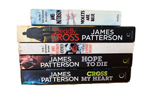 JAMES PATTERSON - 5 books collection