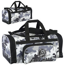 Krav Maga Sports Duffel Bag Camou Gym Clothing Gear Martial Arts Kit Travel