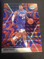 2019-20 Panini Mosaic Blue Reactive Prizm #198 Buddy Hield SAC Kings NBA