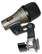 CAD TM 211 CLIP-ON DRUM MICROPHONE FOR TOMS BONGOS NEW FREE SHIP TO 48 STATES
