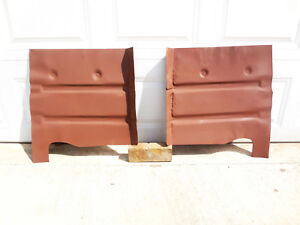 1955 1956 Ford Mercury FRONT FLOOR PAN Sections USA Floorboard 18g LEFT RIGHT