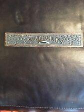 Antique Cast Iron National Cash Register Drawer Front Ncr Candy Barber