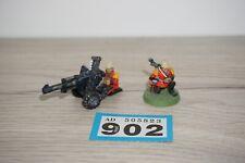 Warhammer 40k Imperial Praetorian Autocannon Heavy Weapon Team - Metal LOT 902