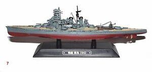 KIRISHIMA battleship War ship Japan WWII 1:1100 Ixo Eaglemoss diecast