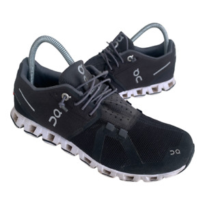 On Cloud Swiss Engineering Women Size 8 Black Athletic Running Shoes Sneakers