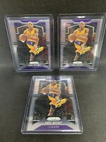 Lot (15) Kobe Bryant 2018-19 2019-20 Prizm Optic Base and Inserts NBA Finalists