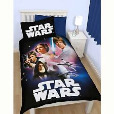 STAR WARS 'EMPIRE' SINGLE DUVET COVER BEDDING NEW OFFICIAL - EXCLUSIVE!