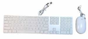 Apple A1243 Wired USB Keyboard and Mouse A1152