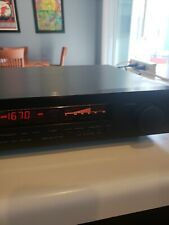 Yamaha Tx-950 Natural Sound Am/Fm Stereo Tuner Tested Working loose tuning knob