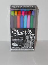 21 Color Sharpie Ultra Fine Point Permanent Pen Markers Alex Morgan Autographed