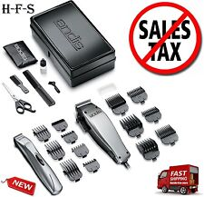 Andis Professional Hair And Beard Clipper Trimmer Combo Kit Barber Salon Stylist