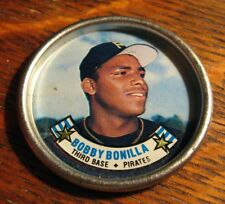 Bobby Bonilla Baseball Button Coin - Vintage 1988 Topps Pittsburgh Pirates MLB