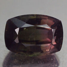 2.36CT RAVISHING AA CUSHION WATERMELON GREEN & PINK TOURMALINE NATURAL