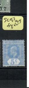 BRITISH HONDURAS (P2609B)  KE 5C  SG 97    MOG