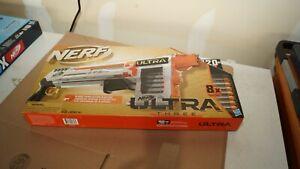 NERF Ultra Three Blaster Pump-Action 8 Ultra Dart 8-Dart Internal Clip
