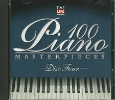 Music CD Time Life 100 Piano Masterpieces Disc 4