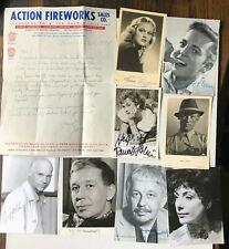 109 Autogramme - National und International - viele top Stücke - siehe 12 Bilder