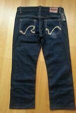 Mens Rivet de Cru Jeans size 40 wais 31.5 Leg dark wash straight leg.rare.