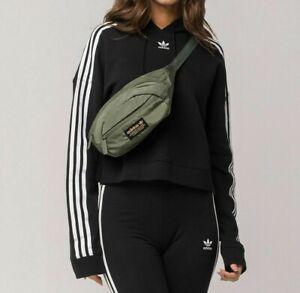 Adidas Originals National Sling Waist Bag Shoulder Crossbody Army Green Gold NEW