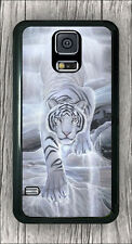 WHITE TIGER GHOST CASE COVER FOR SAMSUNG GALAXY S5 -j6wh6