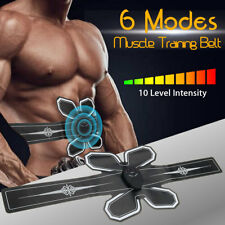 Abdominal ABS Muscle Stimulation Training Belt Body Shape Exercise Trainer Toner