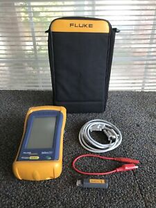 Fluke Networks One Touch Series II Network Assistant NO CHARGER - FREE SHIPPING