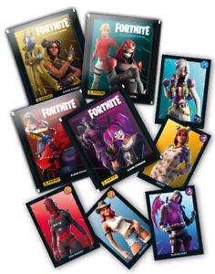 Fortnite Black Frame Serie 2 - 50 verschiedene Sticker - keine doppelt Panini