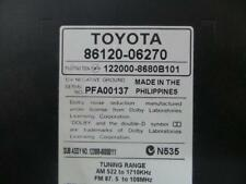 TOYOTA CAMRY RADIO/CD/DVD/SAT/TV RADIO/CD STACKER IN DASH, ACV40, NON BLUETOOTH