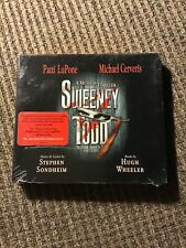 SWEENEY TODD 2005 BROADWAY SOUNDTRACK CD, OOP PATTI LUPONE MICHAEL CERVERIS, NEW