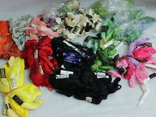 LOT Embroidery Floss Thread 200+ Skeins Multiple Colors w/ Winding Tool