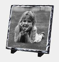 Personalised Photo Slate 20cm sq, you're picture perfect